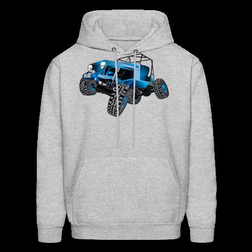 blue jeep shirt - Men's Hoodie