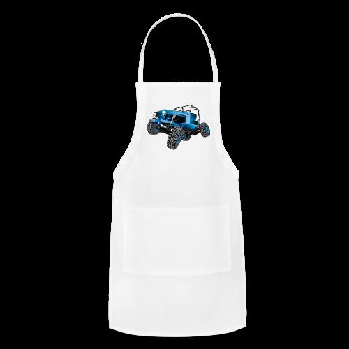 blue jeep shirt - Adjustable Apron