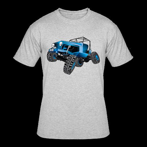 blue jeep shirt - Men's 50/50 T-Shirt