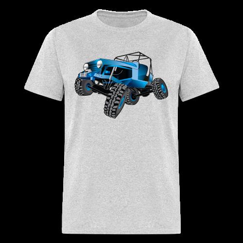 blue jeep shirt - Men's T-Shirt