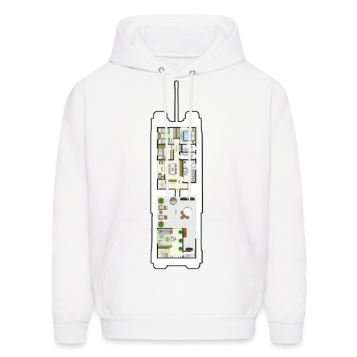 TOG Floor Plans - Men's Hoodie