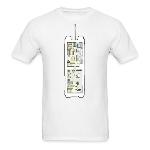 TOG Floor Plans - Men's T-Shirt