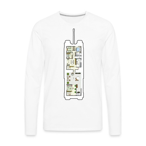 TOG Floor Plans - Men's Premium Long Sleeve T-Shirt