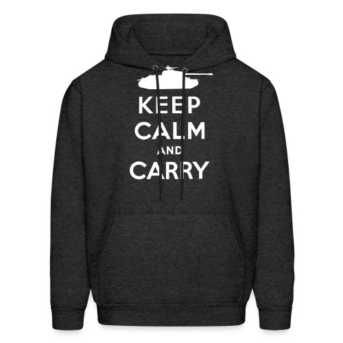 Keep Calm and Carry - Men's Hoodie