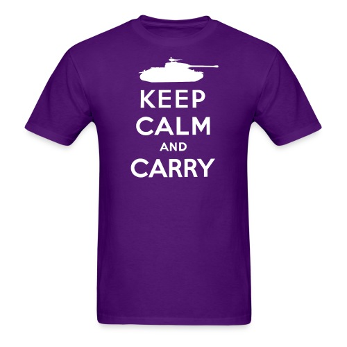 Keep Calm and Carry - Men's T-Shirt