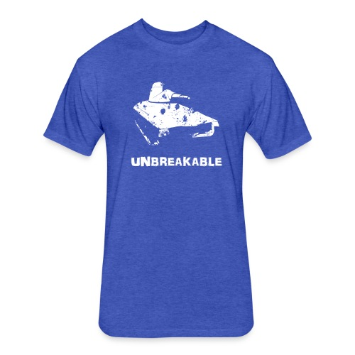 Unbreakable (Women) - Fitted Cotton/Poly T-Shirt by Next Level