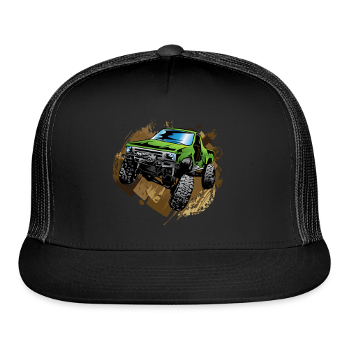 green off-road truck - Trucker Cap