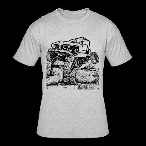 Big Rock Crawling Jeep - Men's 50/50 T-Shirt