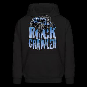 Cool Blue Jeep Rock Crawler - Men's Hoodie