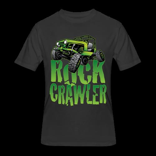 Mean Green Jeep Rock Crawler - Men's 50/50 T-Shirt