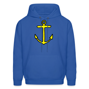 Anchor T-Shirt (Kids) Outline - Men's Hoodie