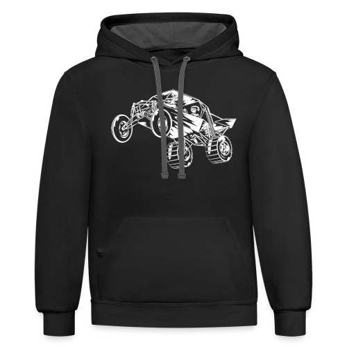 Family Time Dune Buggy Rev - Contrast Hoodie