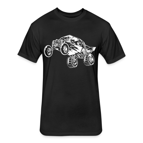 Family Time Dune Buggy Rev - Fitted Cotton/Poly T-Shirt by Next Level