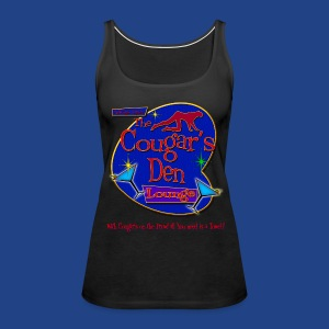The Cougars Den - Women's Premium Tank Top