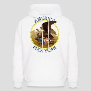 America Fuck Yeah Retro - Men's Hoodie