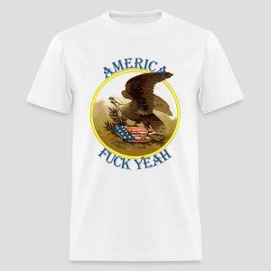 America Fuck Yeah Retro - Men's T-Shirt