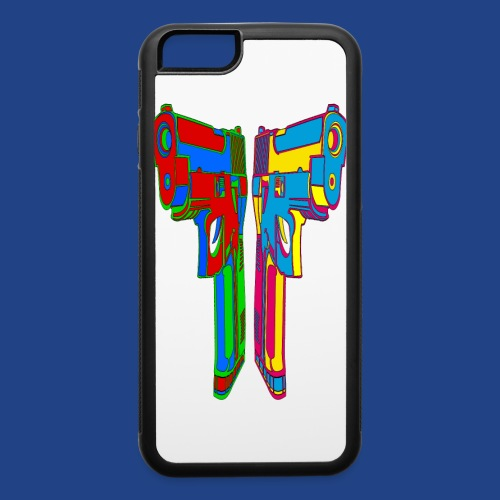 Pop Art Pistols - iPhone 6/6s Rubber Case