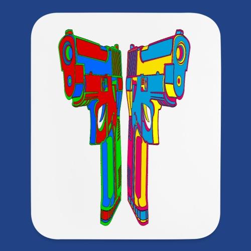 Pop Art Pistols - Mouse pad Vertical