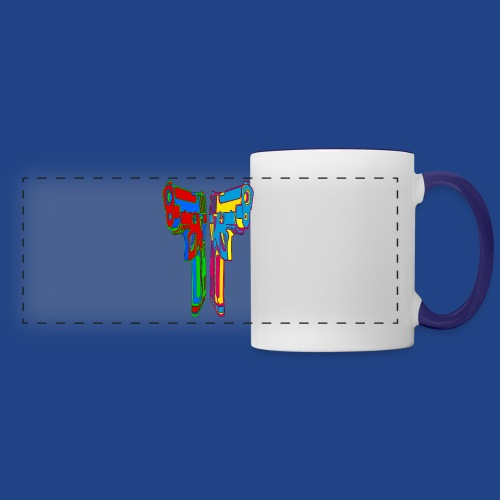 Pop Art Pistols - Panoramic Mug