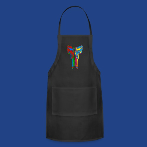 Pop Art Pistols - Adjustable Apron