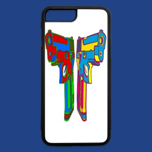 Pop Art Pistols - iPhone 7 Plus/8 Plus Rubber Case