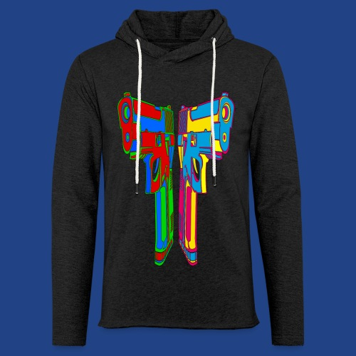 Pop Art Pistols - Unisex Lightweight Terry Hoodie