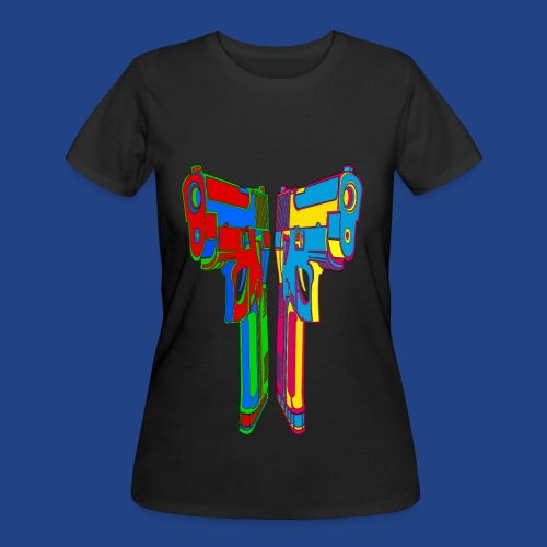 Pop Art Pistols - Women's 50/50 T-Shirt