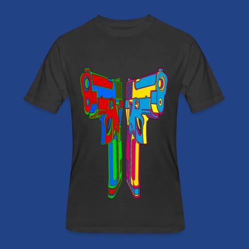 Pop Art Pistols - Men's 50/50 T-Shirt