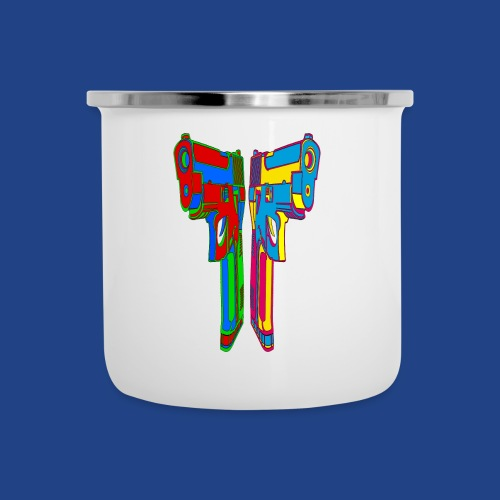 Pop Art Pistols - Camper Mug