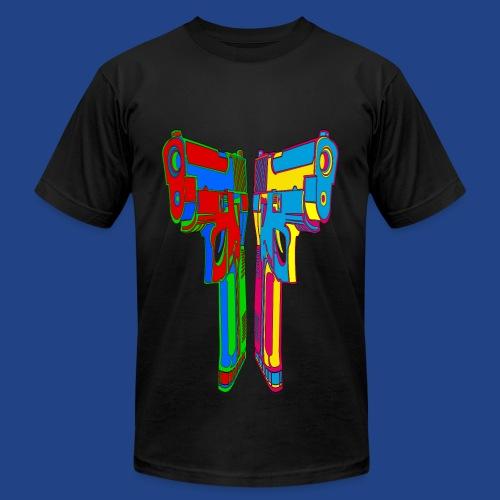 Pop Art Pistols - Men's Fine Jersey T-Shirt