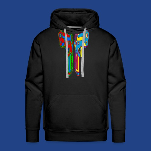 Pop Art Pistols - Men's Premium Hoodie