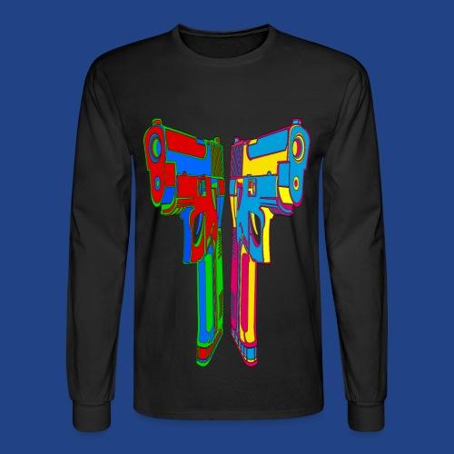 Pop Art Pistols - Men's Long Sleeve T-Shirt