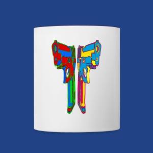 Pop Art Pistols - Contrast Coffee Mug