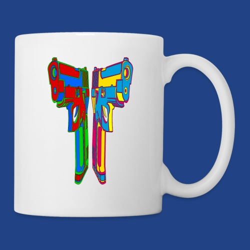 Pop Art Pistols - Coffee/Tea Mug