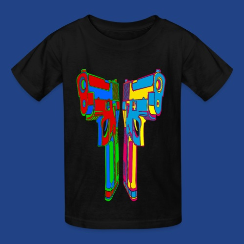 Pop Art Pistols - Kids' T-Shirt