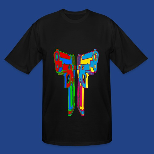 Pop Art Pistols - Men's Tall T-Shirt