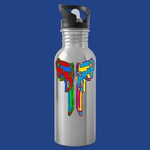 Pop Art Pistols - Water Bottle
