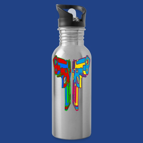 Pop Art Pistols - Water Bottle