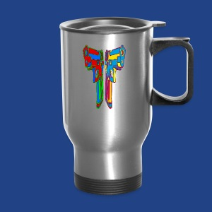 Pop Art Pistols - Travel Mug