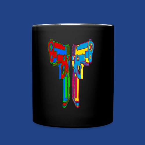 Pop Art Pistols - Full Color Mug