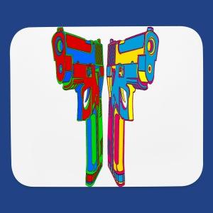 Pop Art Pistols - Mouse pad Horizontal