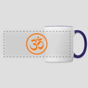 Orange Om - Panoramic Mug