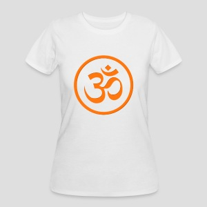 Orange Om - Women's 50/50 T-Shirt