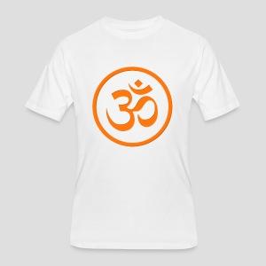 Orange Om - Men's 50/50 T-Shirt