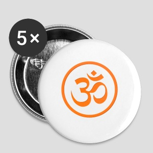 Orange Om - Small Buttons