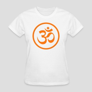 Orange Om - Women's T-Shirt