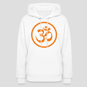 Orange Om - Women's Hoodie