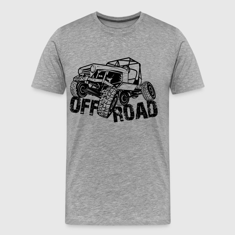 Off-Road 4x4 Jeep - Men's Premium T-Shirt