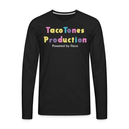 Taco Tones Production - Men's Premium Long Sleeve T-Shirt