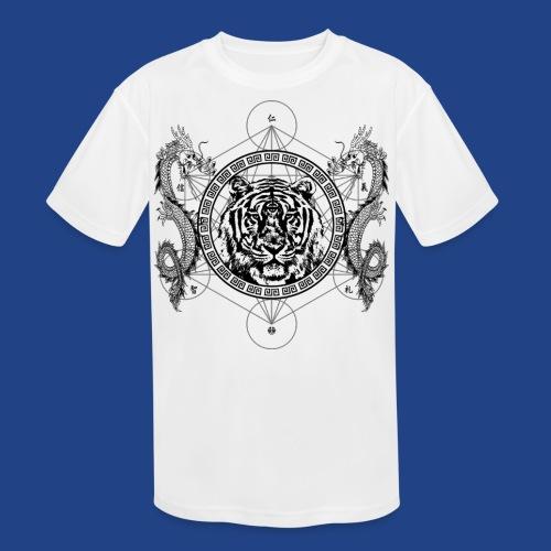 Mystic Tiger - Kid's Moisture Wicking Performance T-Shirt